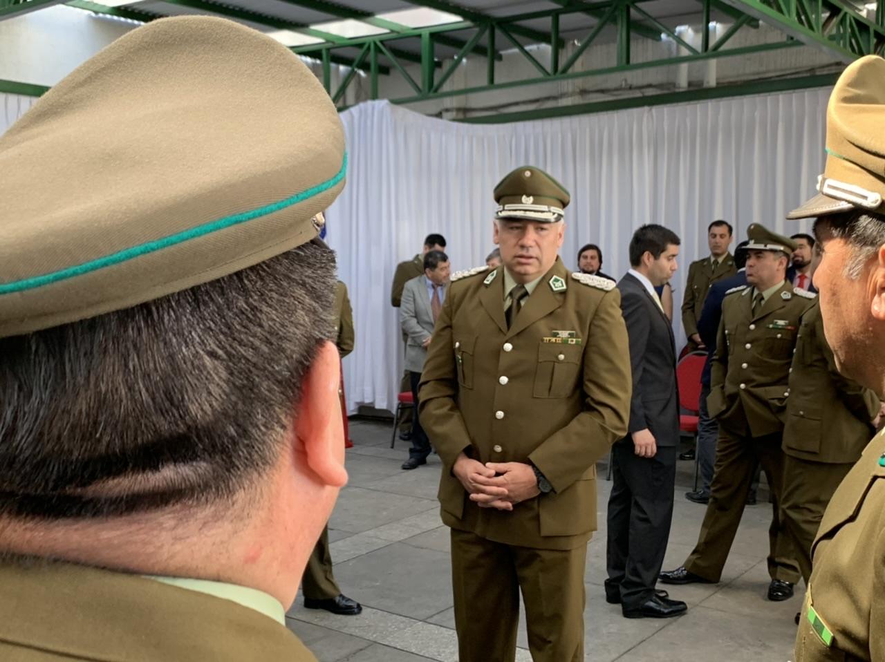 Cambio de mando en Carabineros de Los Ángeles: Prefecto deja el cargo y asumirá jefatura en Concepción