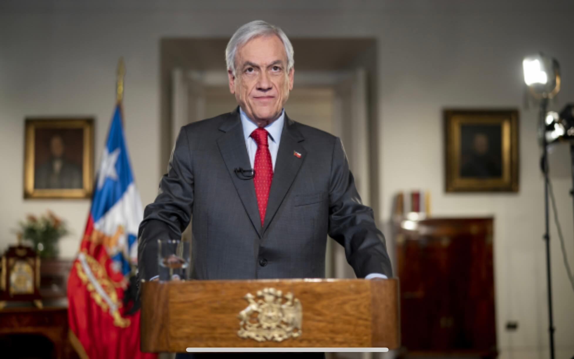 Piñera anuncia reforma a las pensiones de un 6% con cargo al empleador