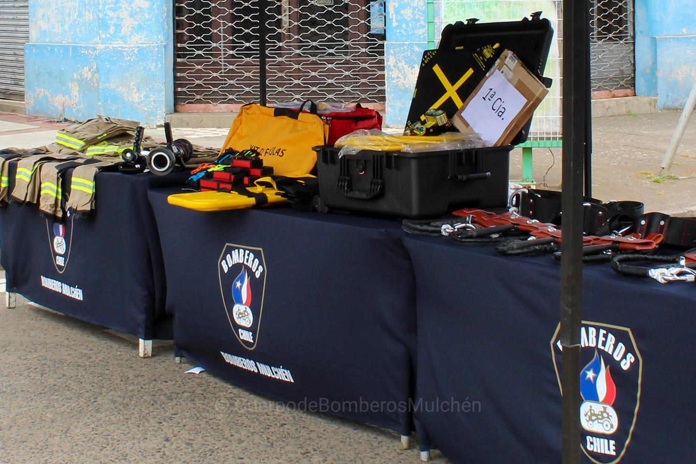 Bomberos de Mulchén se adjudican millonarios fondos para equipamiento