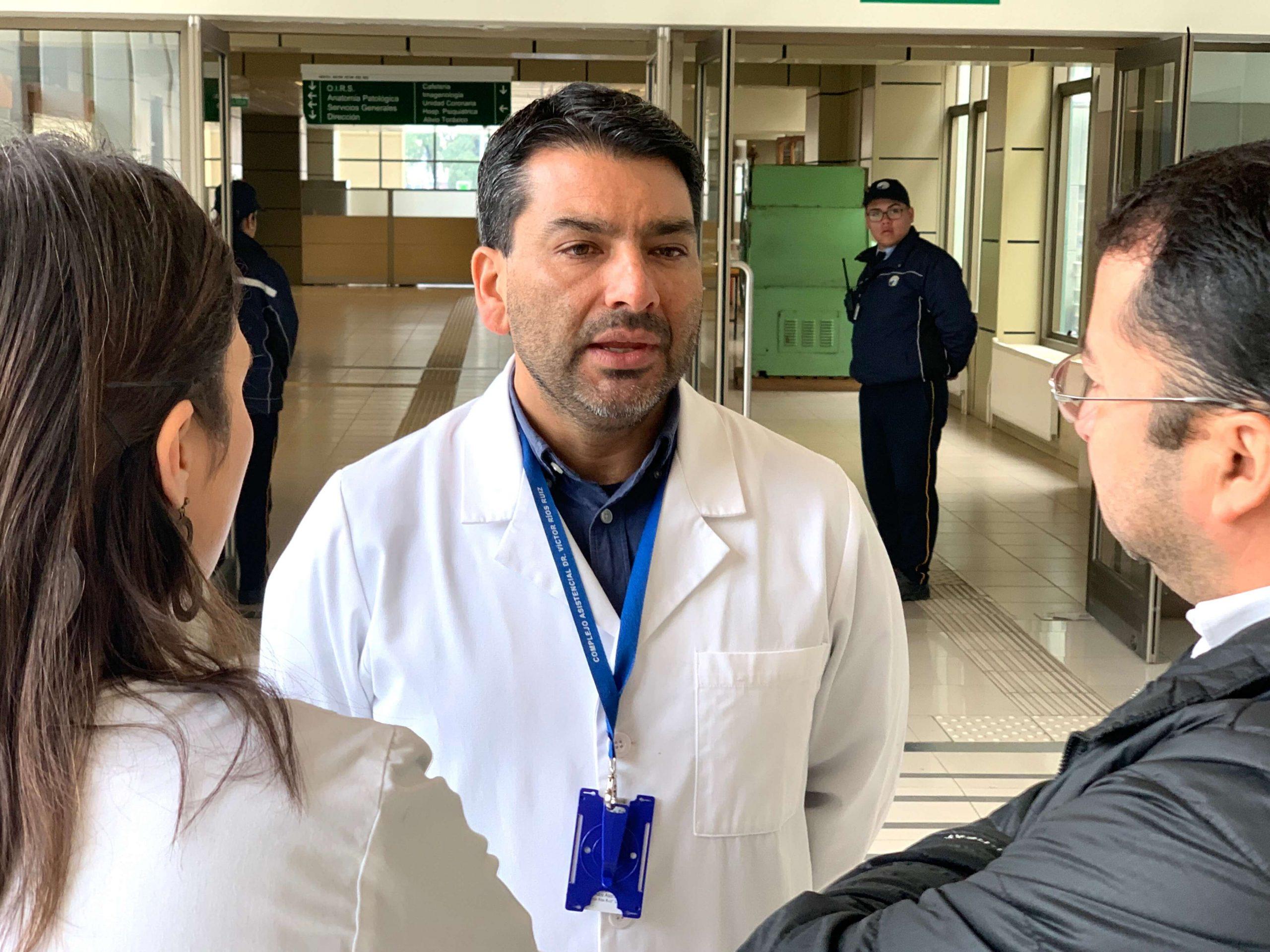 Director del Hospital de Los Ángeles es positivo para Covid-19