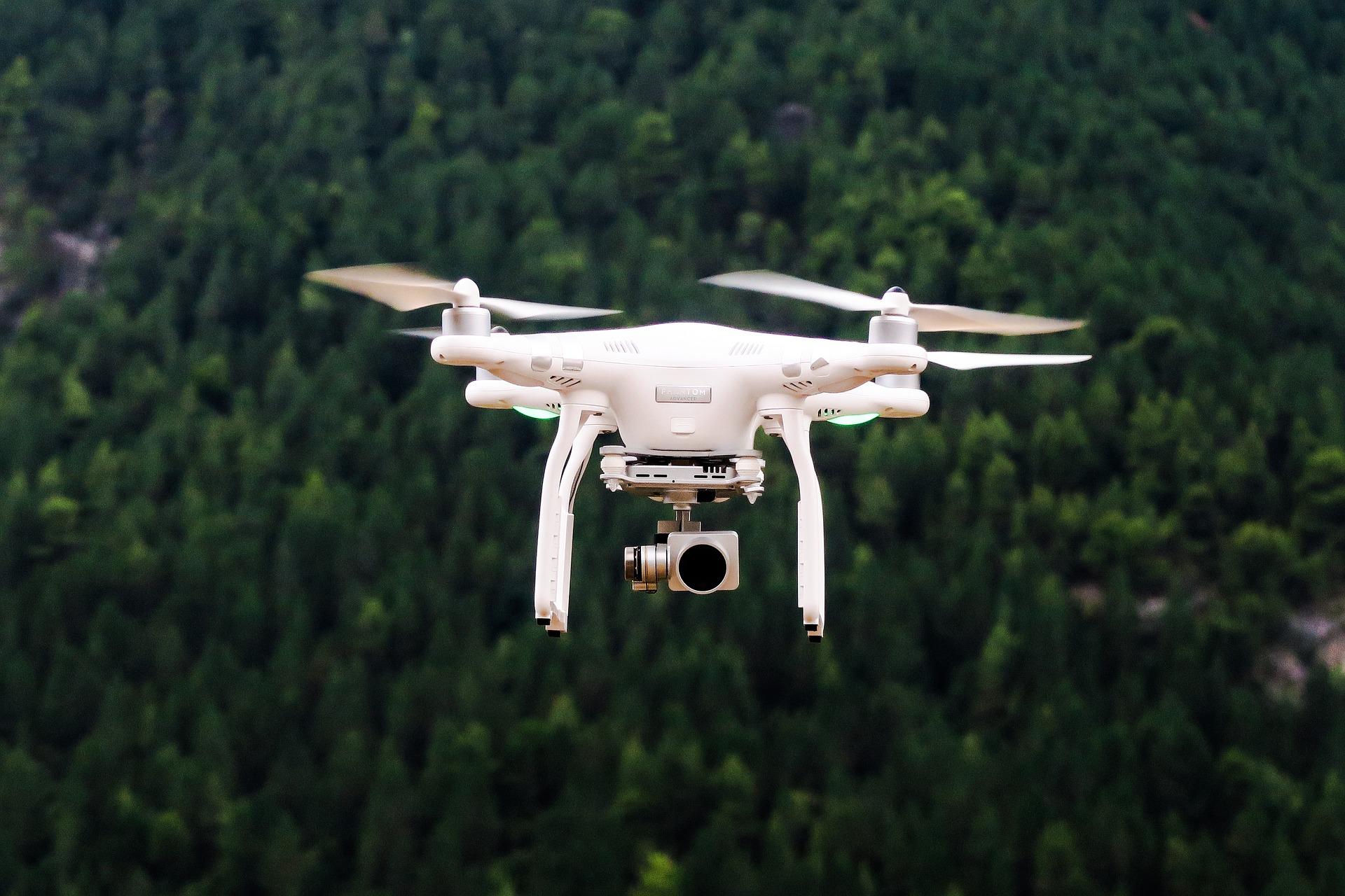Buscarán con drones a quienes inicien fuego en bosques de Mulchén, Nacimiento, Laja y Cabrero