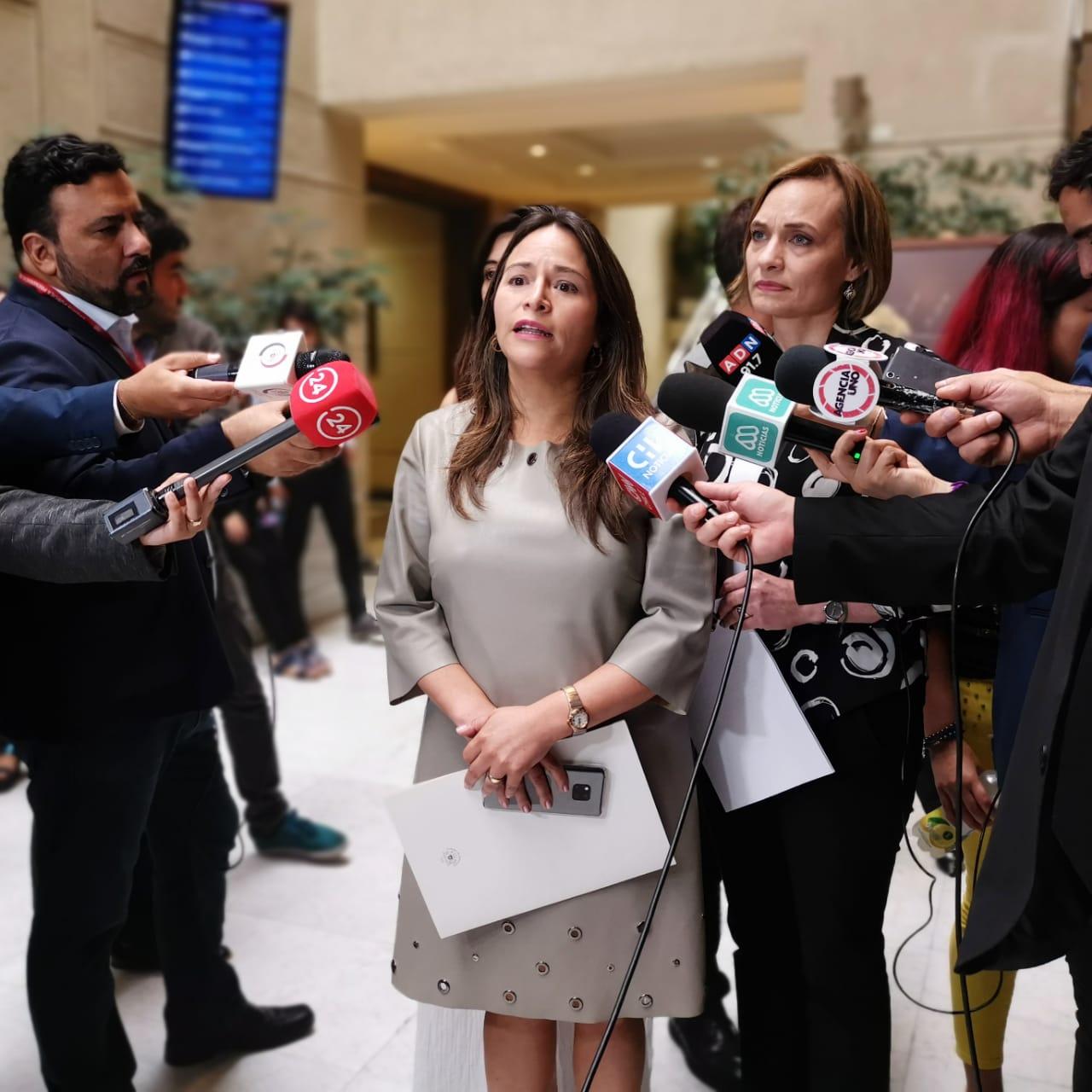 Parlamentarias reingresan reforma constitucional que repone voto obligatorio