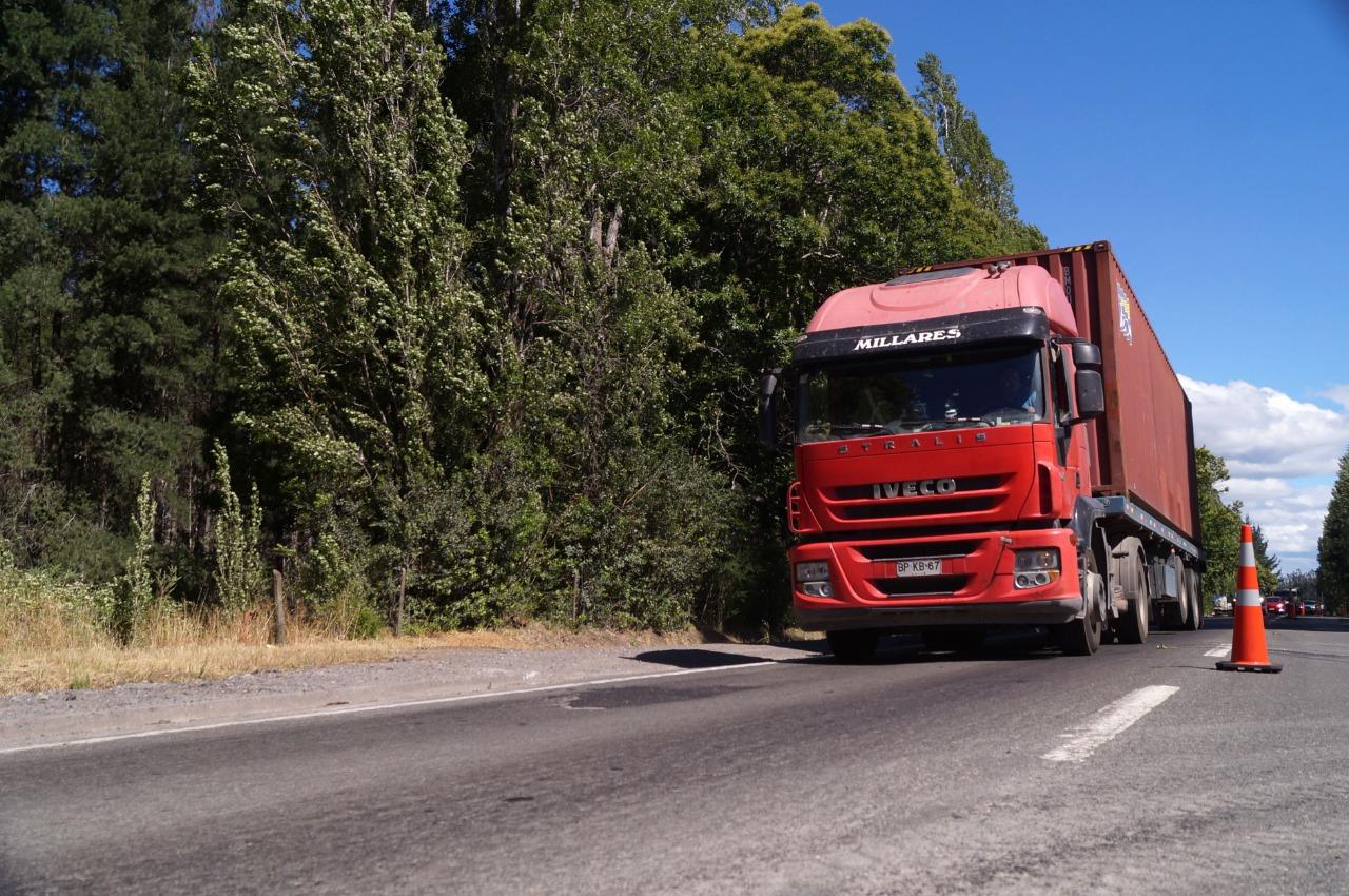 Estudio de ingeniería permitirá mejorar seguridad de la Ruta de la Madera