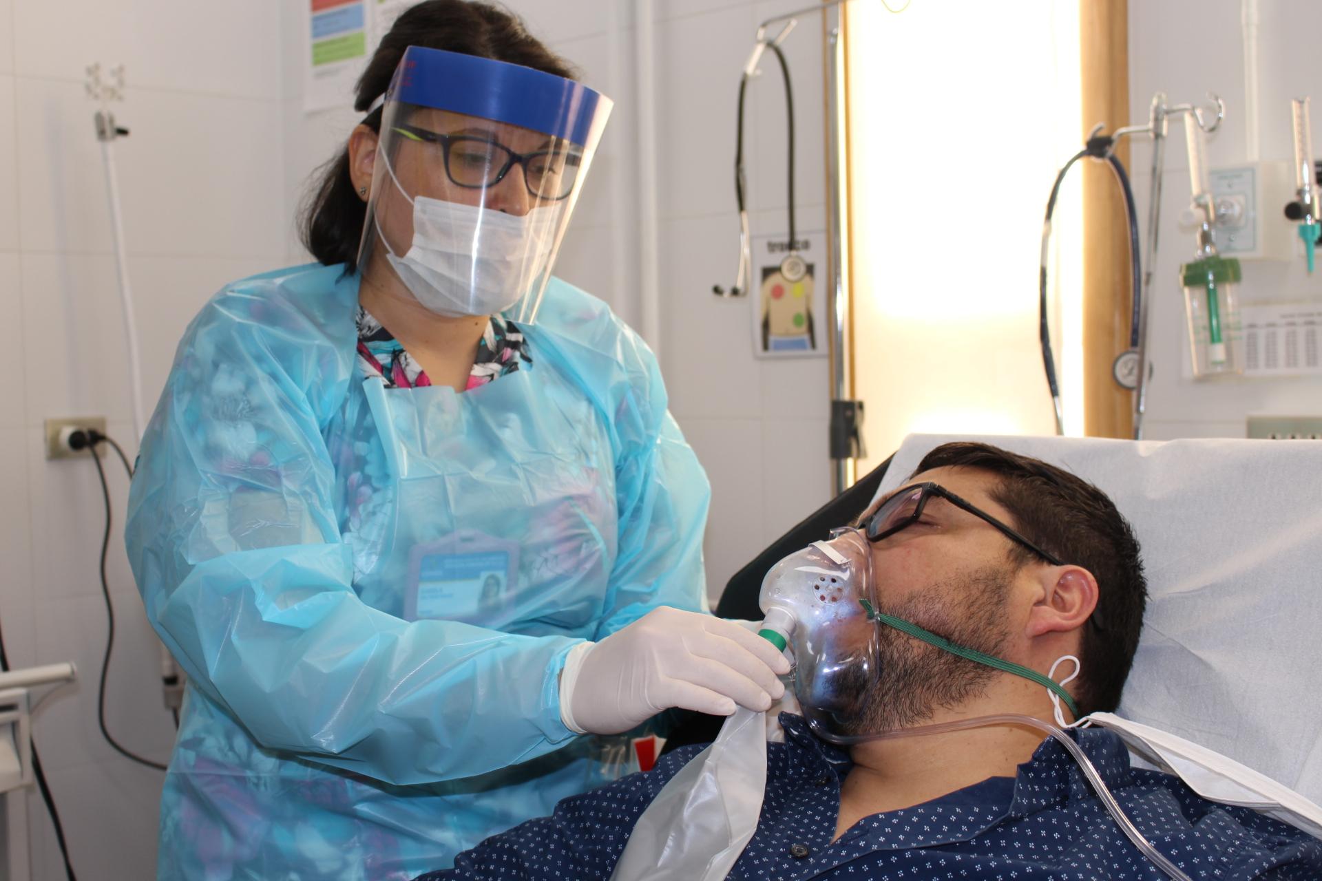 Coronavirus: Realizan simulacro de contagio en Los Ángeles