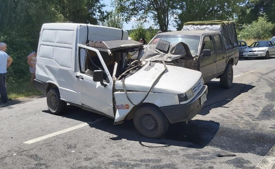 Accidente de tránsito camino a El Peral deja 3 personas lesionadas
