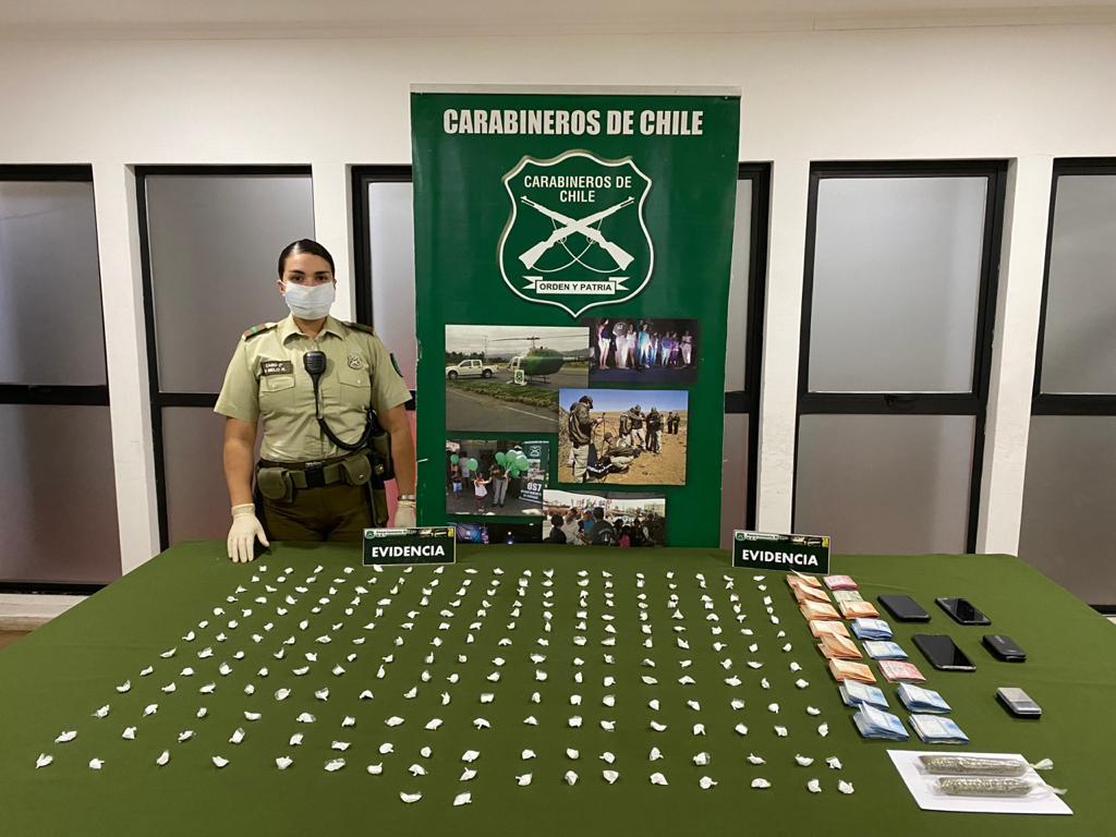 Cae «Delivery» de Cocaína en Monte Águila