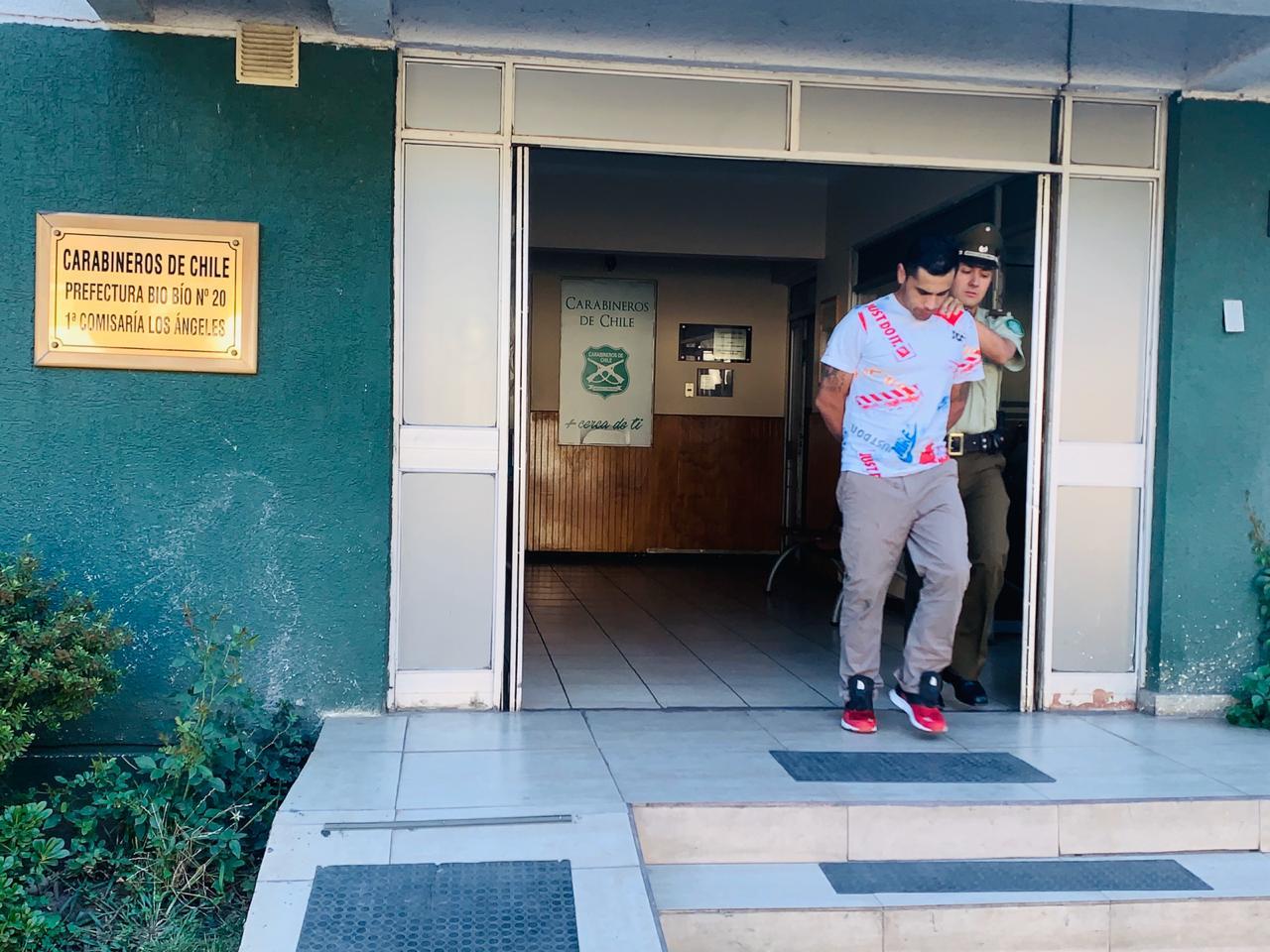 Capturan en Los Ángeles a peligroso homicida que escapó de la cárcel de Angol