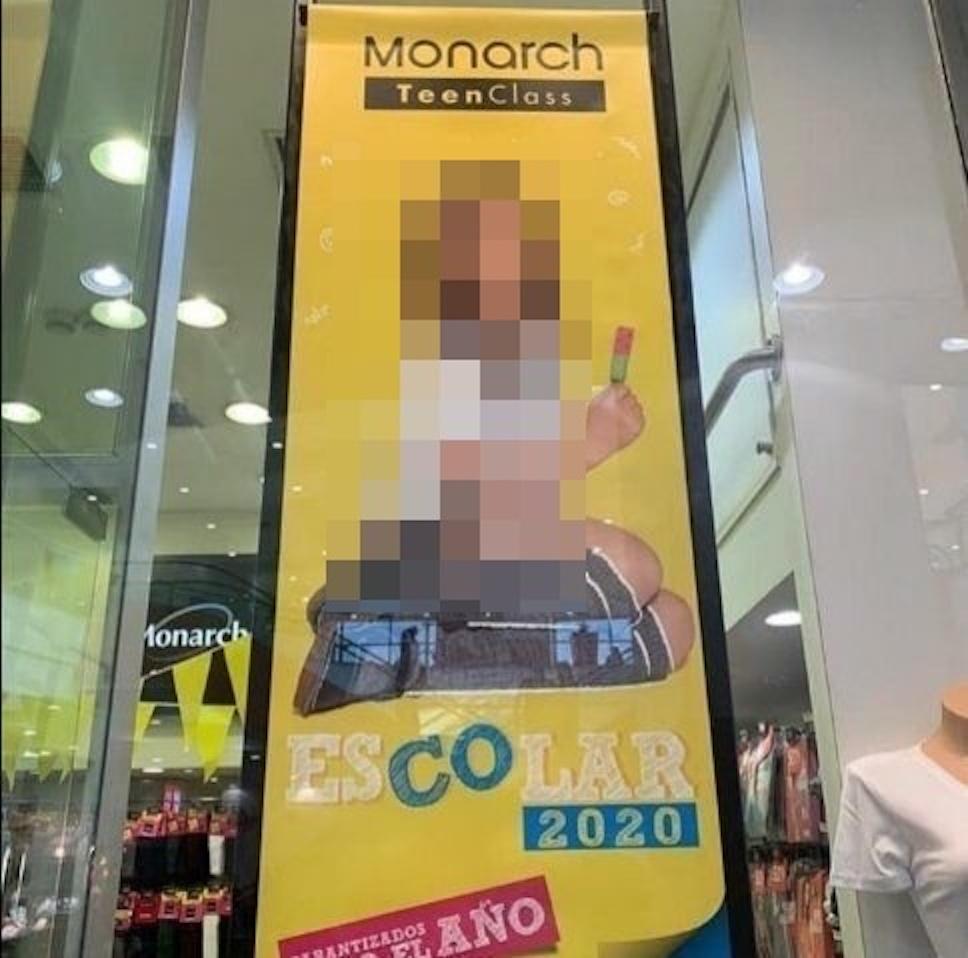 Monarch retirará campaña escolar criticada por considerar que «sexualizó» a menor de edad