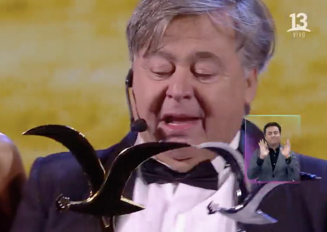 Ernesto Belloni vence los pronósticos y se lleva gaviotas de plata y oro en Viña del Mar
