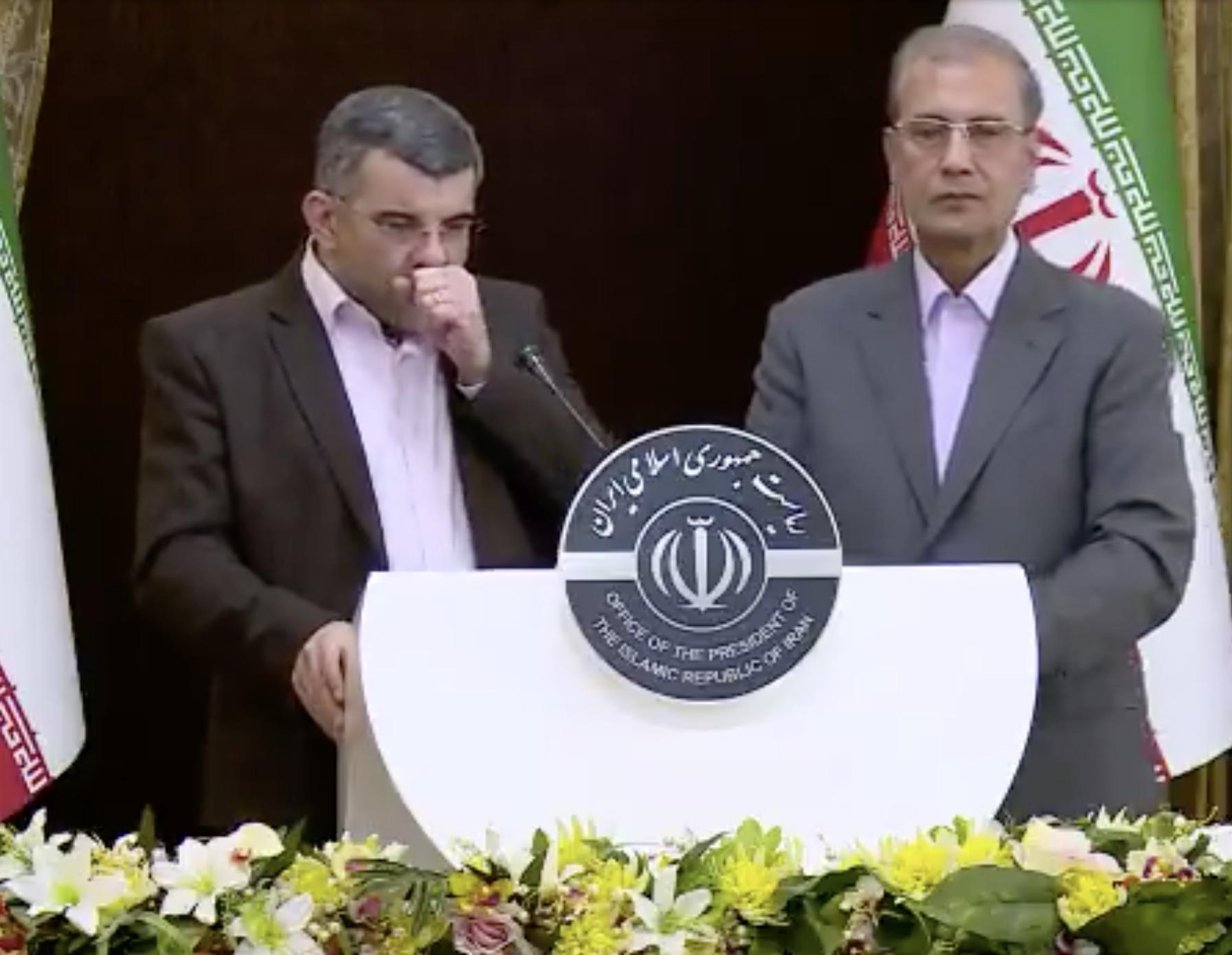 Después de toser en público y en TV: Funcionario iraní da positivo de Corona Virus