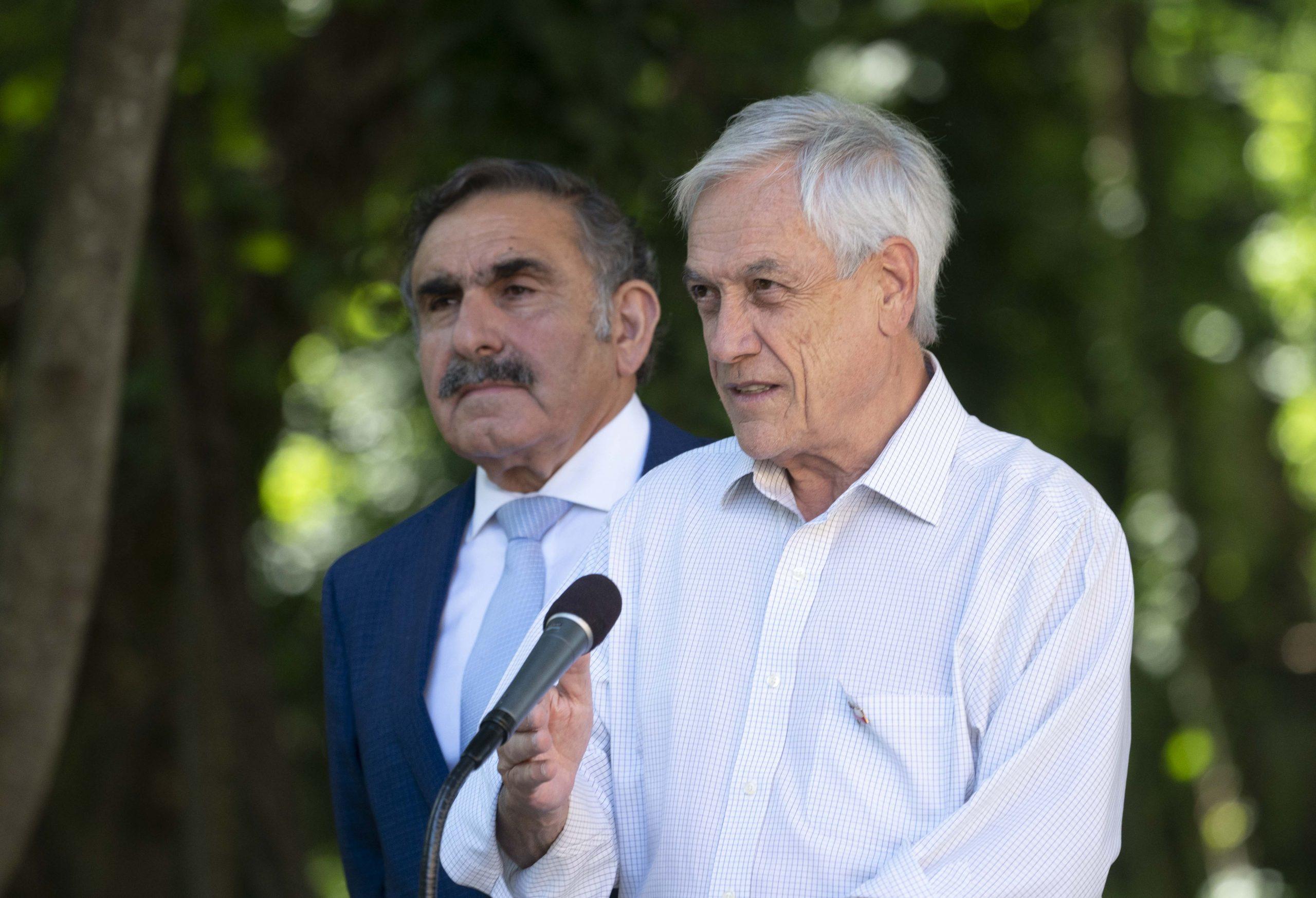 Piñera en La Araucanía: «es fundamental aprobar el perfeccionamiento de la ley antiterrorista»
