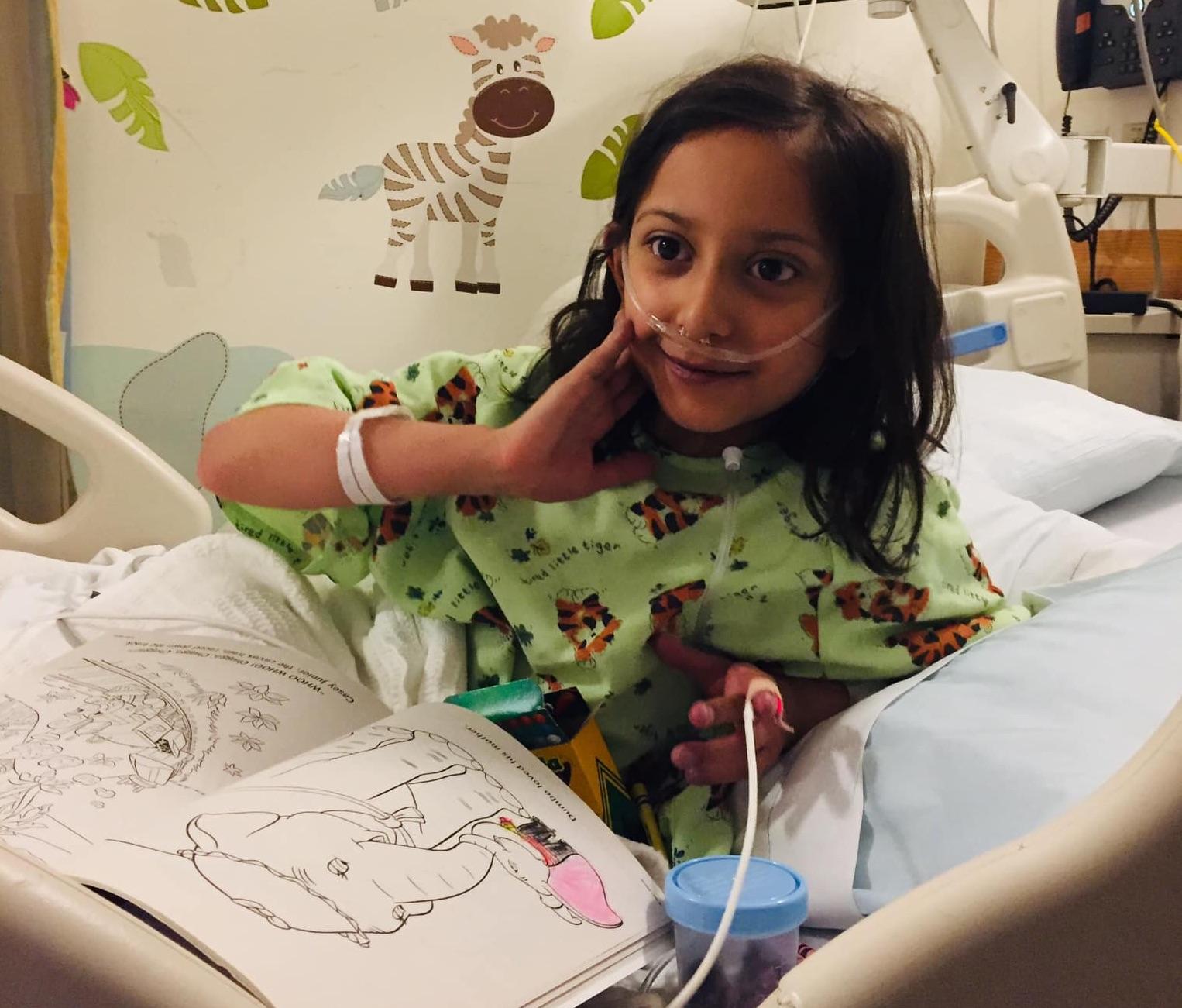 Sofía Toledo murió durante el tratamiento en Hospital de Niños de Boston