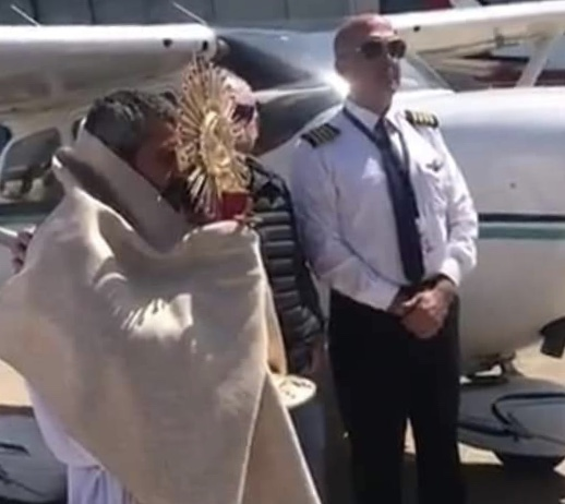 Iglesia Católica bendecirá Los Ángeles y alrededores desde el aire