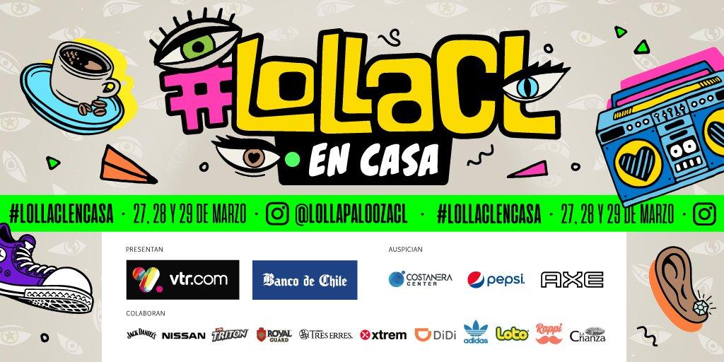 «Lolla en Casa»: Realizarán festival online el fin de semana: Revisa el LineUP