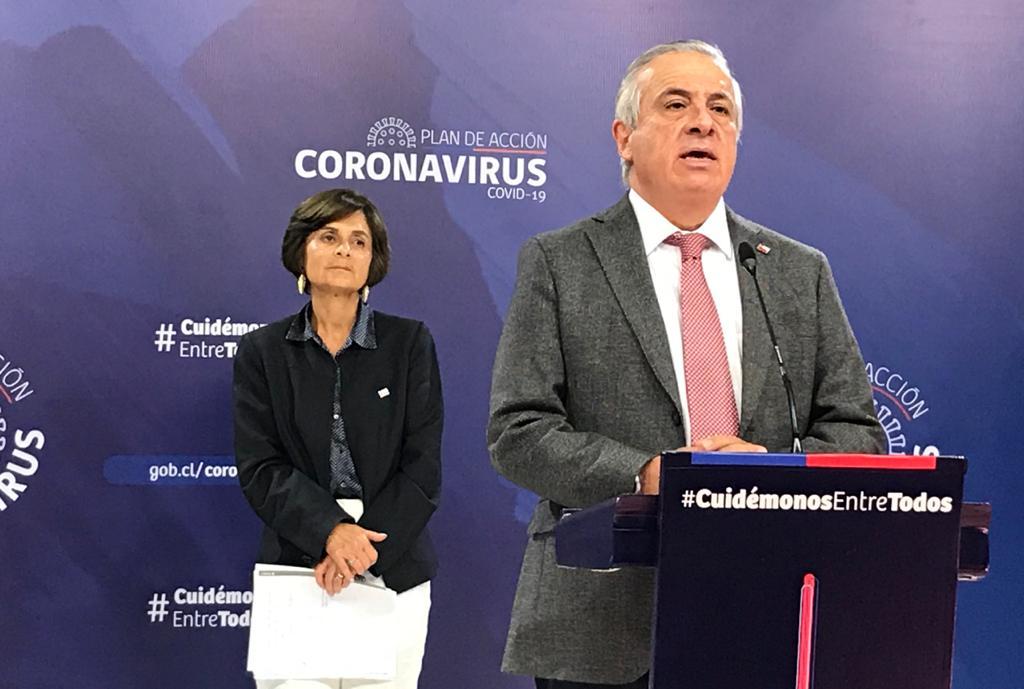 Chile llega a 922 contagiados, 40 hospitalizados y 2 fallecidos
