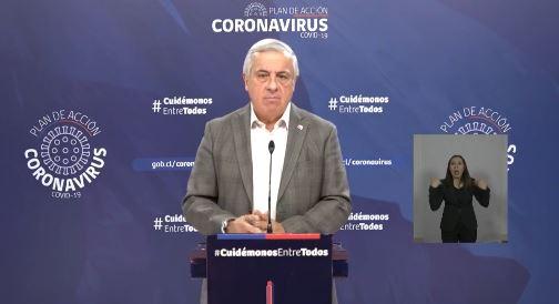 Ministro y primera muerte por Covid-19: «Estuvo con 4 familiares que dieron positivo»