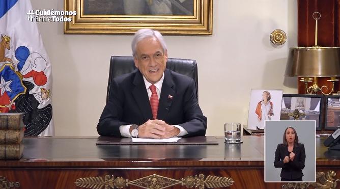 Piñera: «Las próximas semanas serán muy duras»