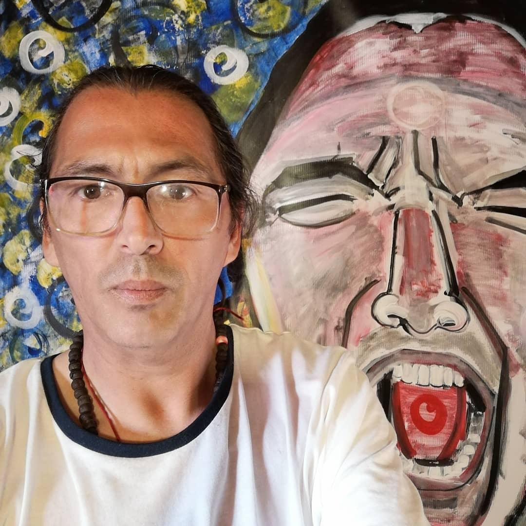 Artista angelino es el único chileno invitado a exponer obra en Portugal