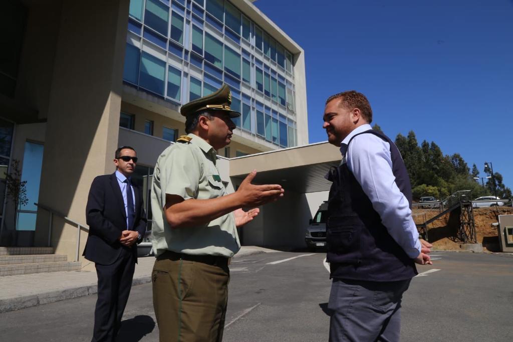 Carabineros pone a disposición la ex Clínica Universitaria de San Pedro de la Paz para la emergencia sanitaria