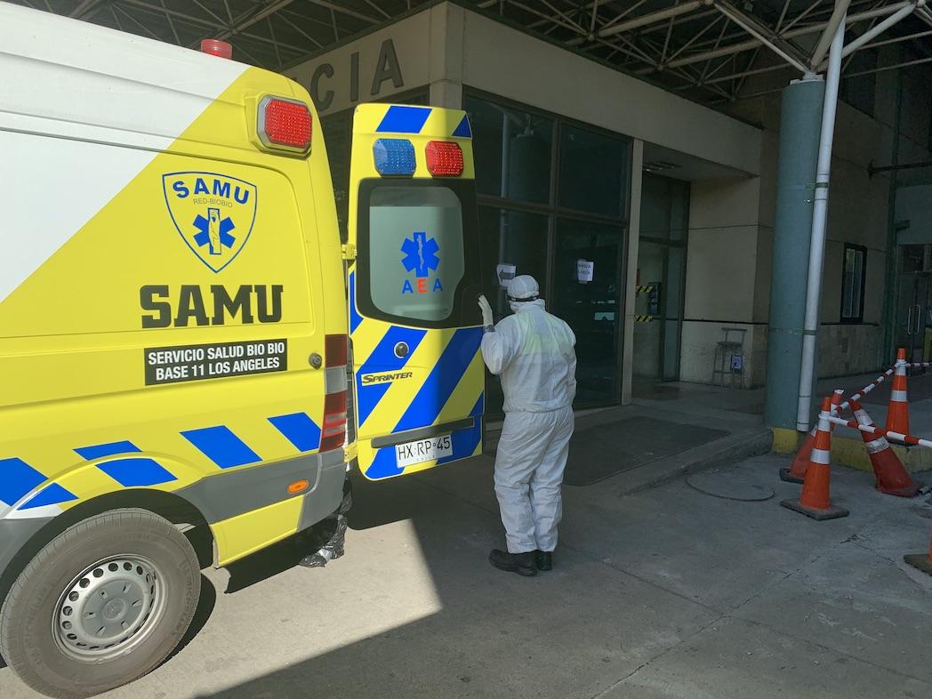 Profesional del Hospital de Los Ángeles da positivo y 35 funcionarios quedan en cuarentena