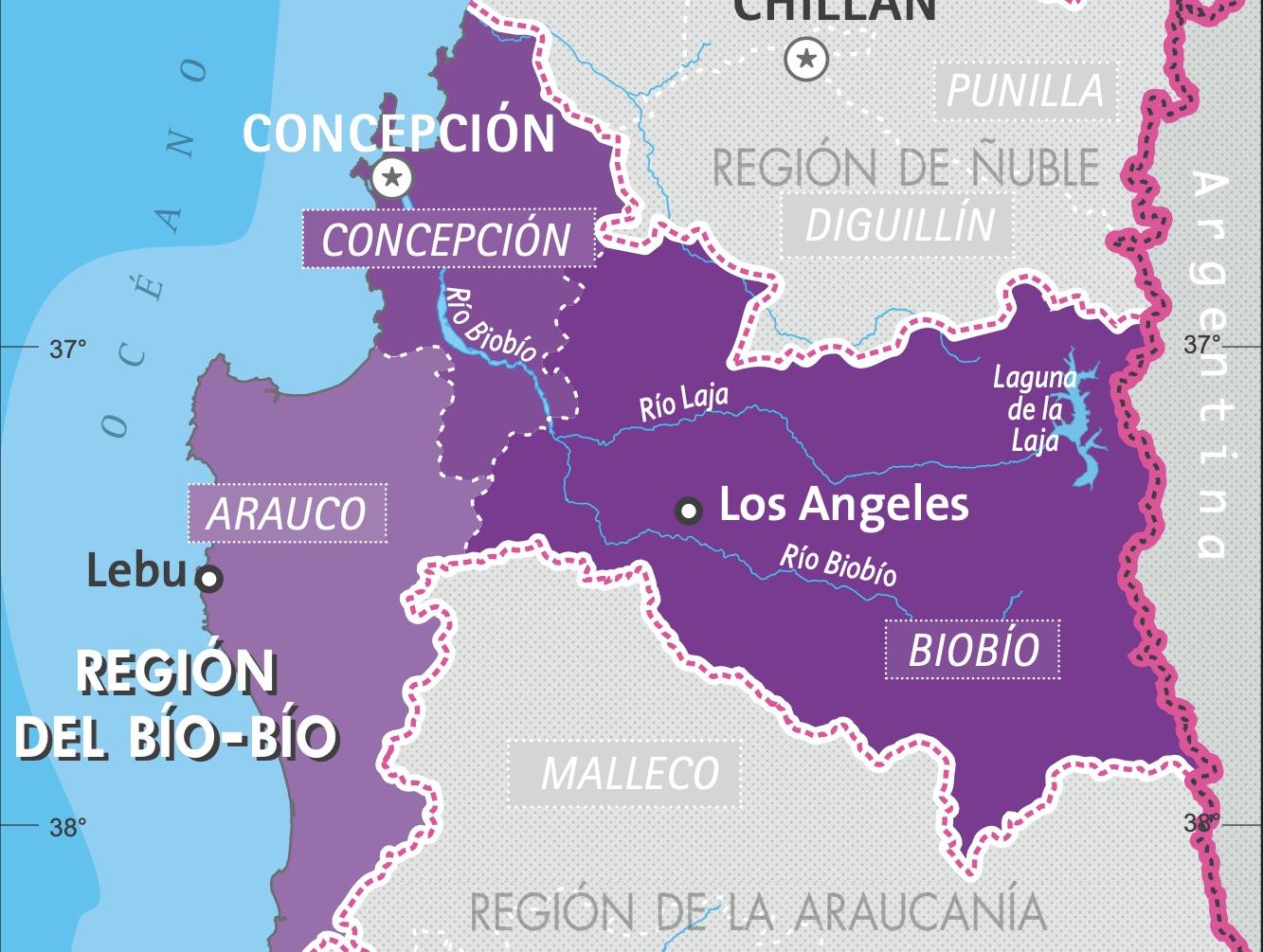 Martes 15 de diciembre: Reporte de casos por comuna en la región del Biobío