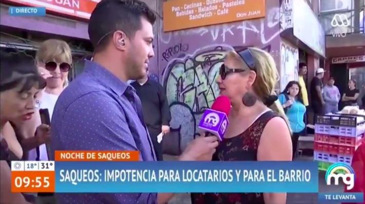 «Me metieron los dedos en el poto»: Incomodo momento vive periodista de Mega