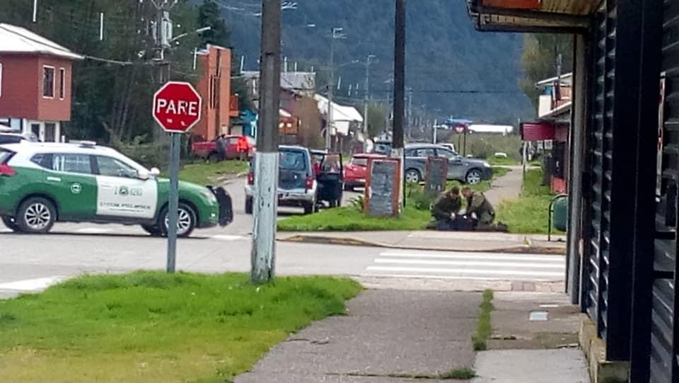 Hombre fue detenido en Aysén luego de apuñalar reiteradamente a un perro