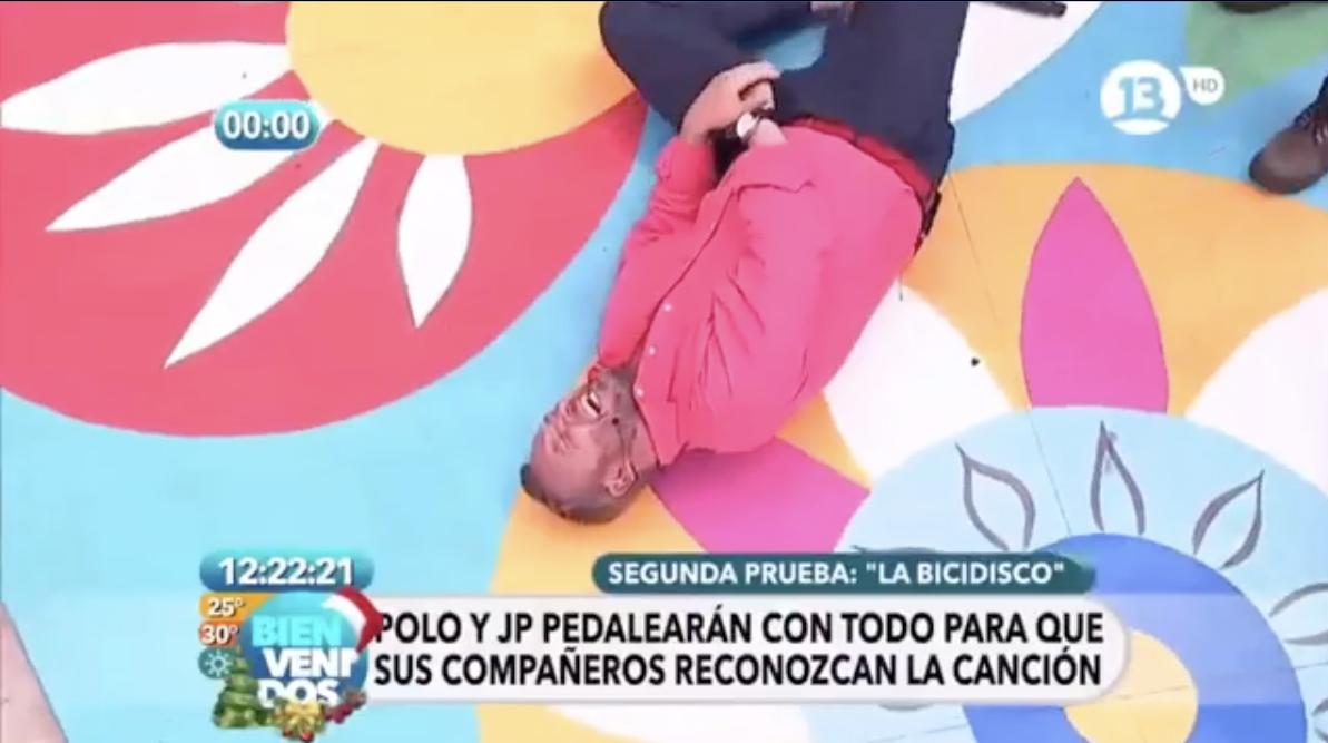 Martín Cárcamo recuerda su accidente en Bienvenidos: «Nunca lo olvidaré»