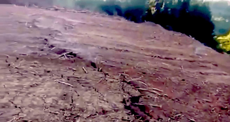 ¿Nuevo volcán? Graban gases con olor a «azufre» en suelos de Concepción