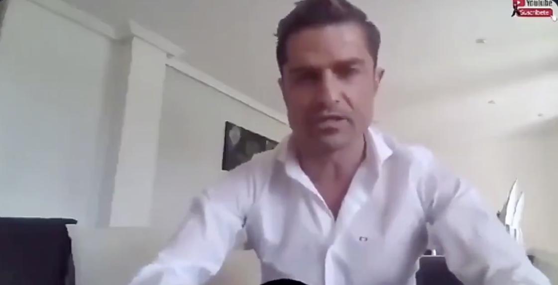 Presunta infidelidad de periodista en vivo: Mujer desnuda se cruza en pantalla