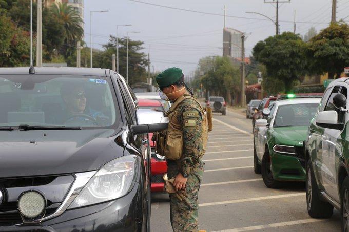 Gran Concepción tendrá cordón sanitario este fin de semana largo