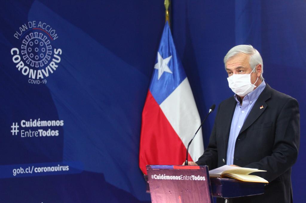 Contagiados llegan a 4.471 y fallecidos a 34 por Covid-19 en Chile