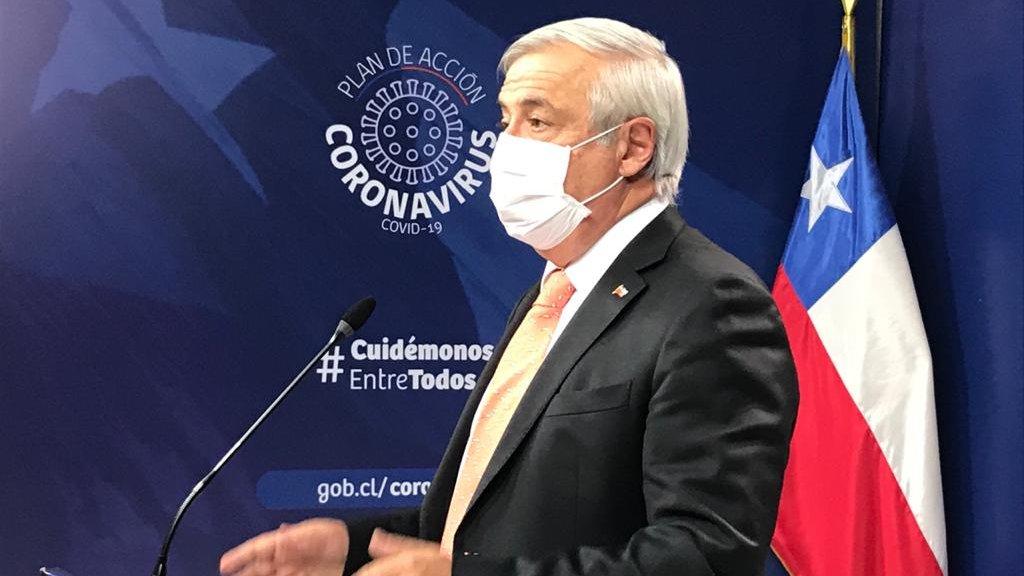 Mañalich y baja inmunidad del Covid: «Podrían haber más brotes en meses o años venideros»