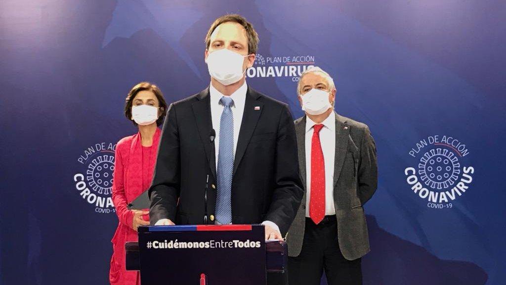 Chile ya acumula más de un centenar de muertos  y hay 534 nuevos casos en 24 horas