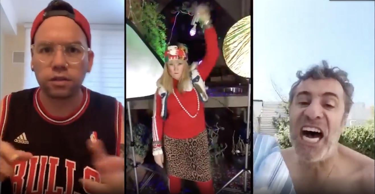 Tito y Kena sorprenden con hilarante hip hop en cuarentena