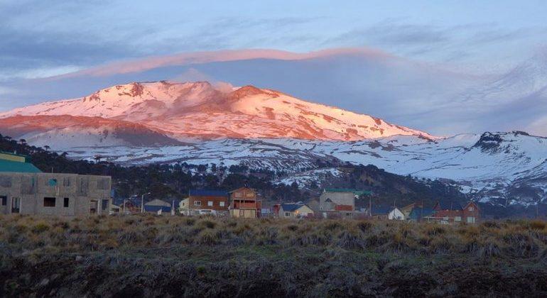 Biobío: Onemi determina mantener alerta amarilla en el Volcán Copahue