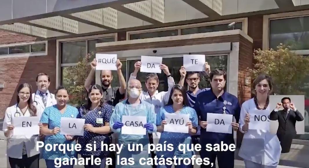 Revisa el emotivo video del Gobierno de Chile para crear conciencia por el Covid-19