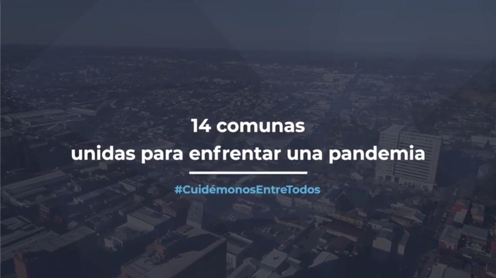 Autoridades de la provincia de Biobío se unen en emotivo video por el Covid-19