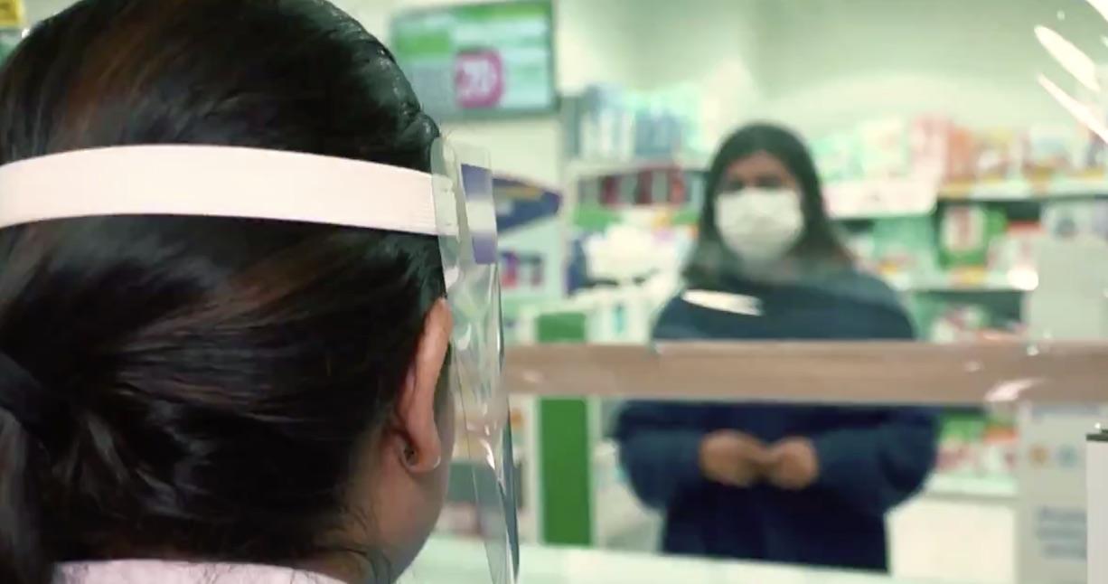 Si una mujer pide la «mascarilla 19» en la Farmacia está en peligro