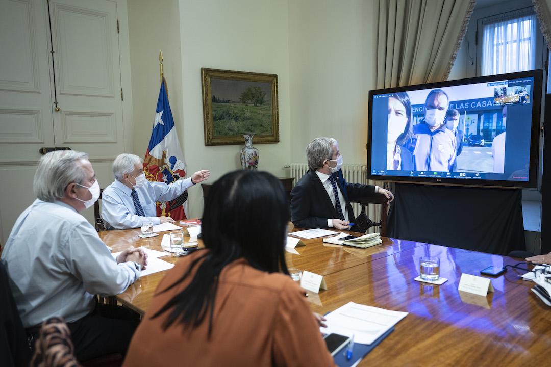 Presidente realiza la puesta en marcha adelantada del Hospital de Padre Las Casas