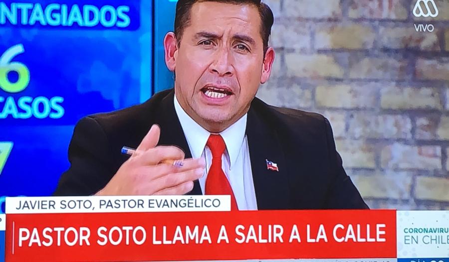 Pastor Soto es sacado del aire tras intervención en Mucho Gusto de Mega