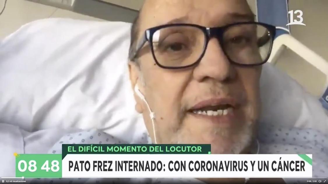 Impacto por entrevista a Pato Frez: Lucha contra el cáncer y el Covid-19