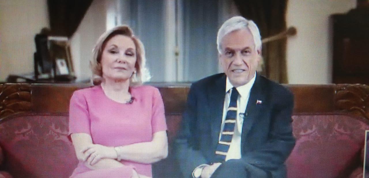 Presidente Piñera felicitó a los trabajadores de la Teletón