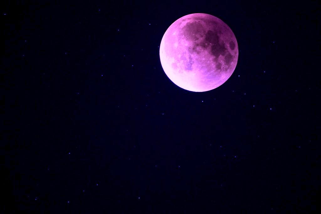 No te pierdas esta semana el fenómeno de la Super Luna Rosada
