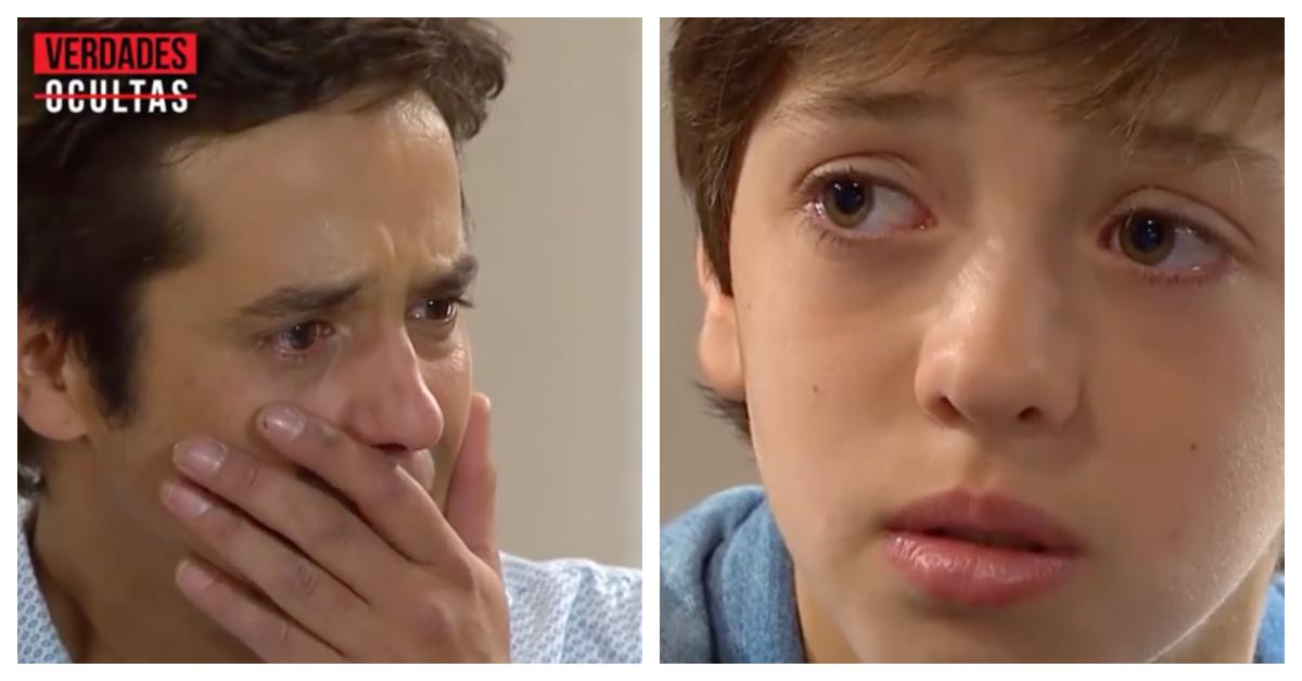 «Tu y Agustina son mis papás verdaderos»: La impactante escena de Verdades Ocultas