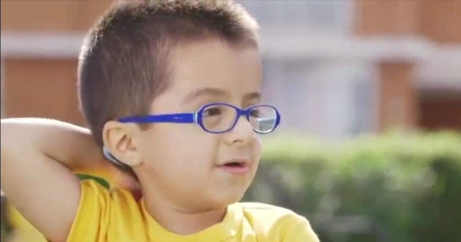 Así reapareció Vicente Jopia, el niño embajador de la Teletón 2016