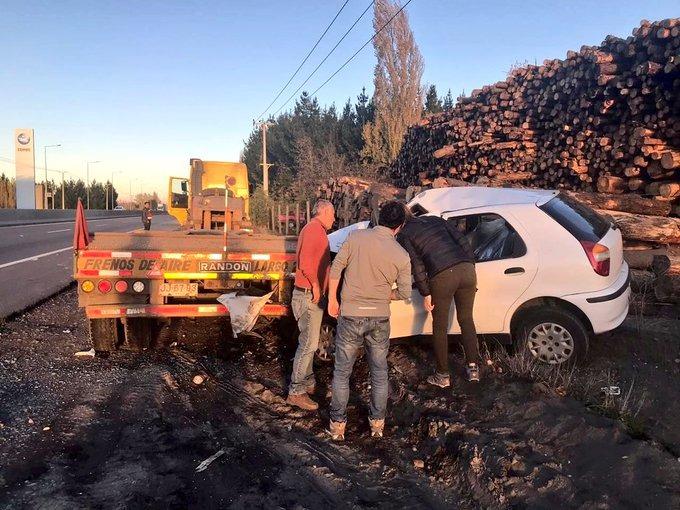 Accidente deja un muerto en la ruta Concepción – Cabrero