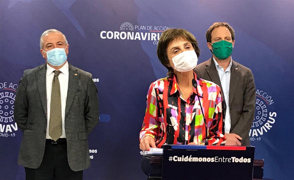 Chile reportó 1.391 nuevos casos y 9 fallecidos en las últimas 24 horas