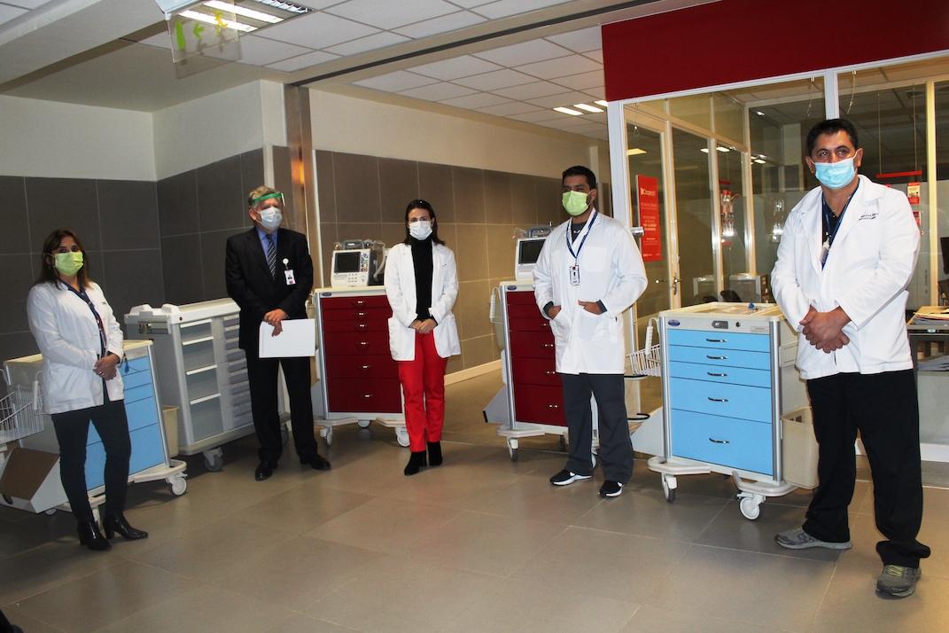 Hospital de Los Ángeles invierte más de 174 millones en equipamiento para Covid-19