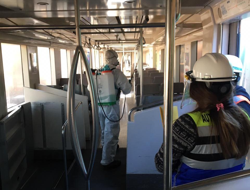 1.358 fiscalizaciones a limpieza y sanitización de micros se han realizado en el Biobío